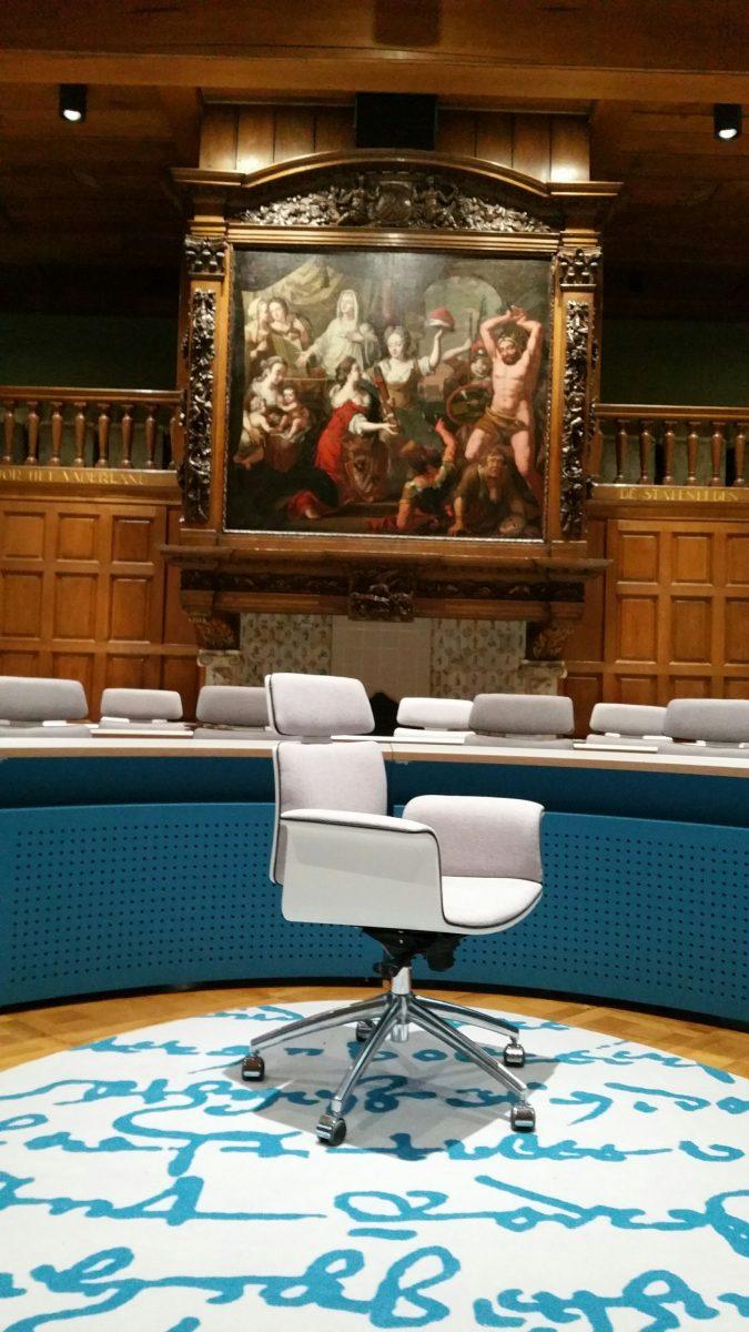 Provincie Groningen Statenzaal - Vepa Fado stoel