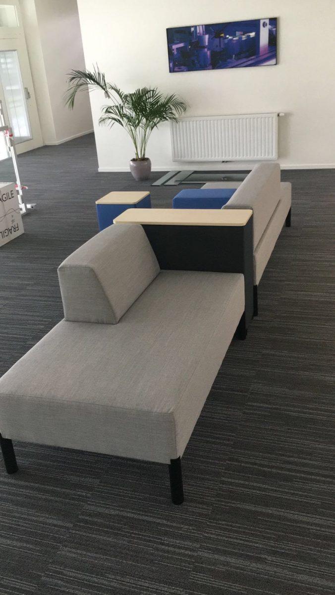 STT Products - Vepa MOI-opstelling - Vpax tafel - De Vorm LJ1 en LJ2 stoel