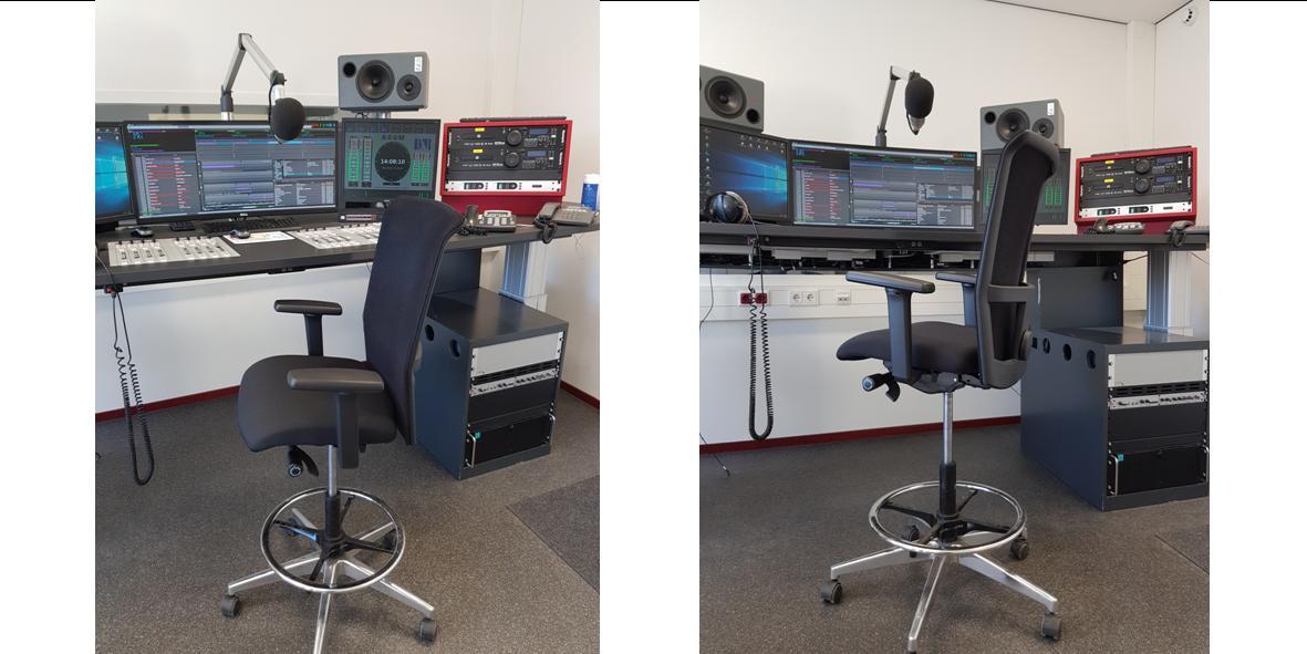 OOG TV - Hoge stoelen Interstuhl,werkstoelen Interstuhl